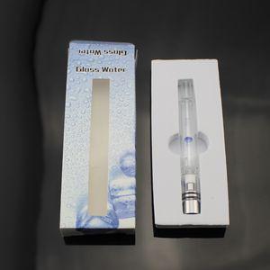 Pyrex Glass Hookah 분무기 탱크 기화기 5 색 건조 허브 왁스 펜 물 필터 파이프 담배 ecig 전자 담배 담배 DHL 무료 배송