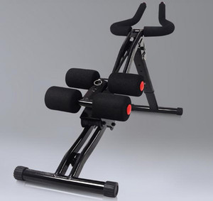 el envío de la talladora del equipo libre más barata de la aptitud ab vertical montaña cintura redonda entrenador rodillos de la máquina de abdominales Abdomen