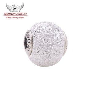 """Toptan Küçük Delik Boncuk not """"BÜYÜK"""" Charms 925 ayar gümüş takı fit özü bilezikler Kolye diy Memnon güzel takı ST106"""