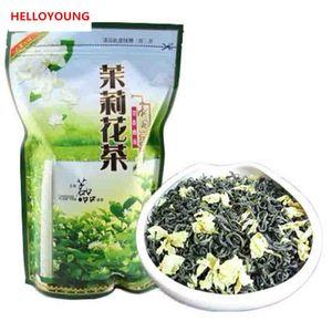 Предпочтение 250г китайский Органический зеленый чай Ароматизированный жасмин цветок Сырые чай Health Care New Spring Green Tea Food Factory Direct Sales