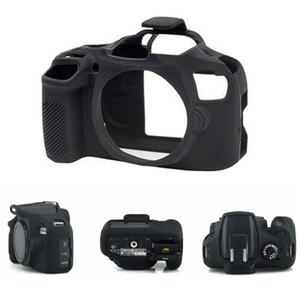 Caja de la cámara digital DSLR Cubierta de la caja de la cámara para Canon 1300D 1500D Caucho de silicona fuerte suave suave (modelo: 1300d / 1500d)