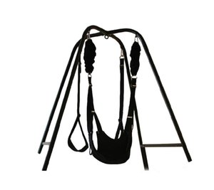 Sex Swing Stand with Wrist Restraints Clamp Belt for Couples Swing for Yoga,Plus a gift