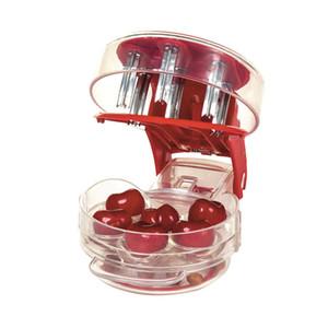 Juego de herramientas Cerezas Utensilios de cocina Herramientas Semillas de cereza Pitter Enucleado rápido