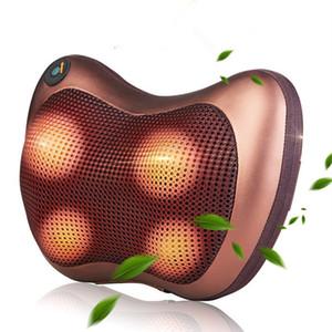 Massaggio Dispositivo Collo Rilassamento Cuscino Massaggio Vibratore Elettrico Spalla Back Massager Car.shiatsu Cuscino da massaggio con riscaldamento