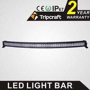 Barra luminosa a LED curvo di alta qualità 50 pollici 288W barra luminosa a LED per lavori a LED Barra curva a LED curva cree chip fascio di proiettori per fuoristrada