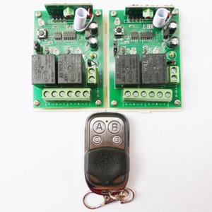 4Buttons controles remotos 2 PCS 2 CH RF sem fios receptor DC12V 433,92 MHz EV1527