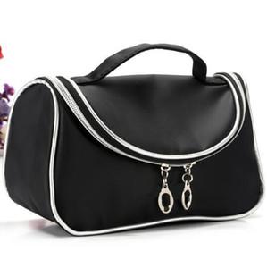 Бренд м косметический мешок формы молнии 190 нейлон профессиональный макияж сумки косметические сумки черный цвет размер 20 см*10 см * 12 см дешевые цена