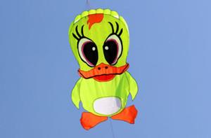 2017 Yeni 3D yazılım uçurtma / uçan küçük sarı ördek / karikatür uçurtma