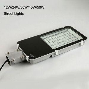 As lâmpadas do diodo emissor de luz 12-50W iluminam lâmpadas de iluminação exteriores industriais impermeáveis da lâmpada IP65 da estrada