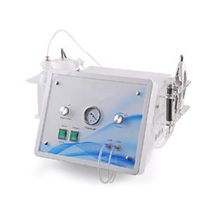 4 in 1 Ultrasonik Cilt Scrubber Oksijen Jet Su Hidro Dermabrazyon Elmas Peel Mikrodermabrazyon Anti Aging Spot Kaldırma için Oxygen Sprey