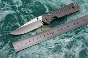 Chris Reeve Klasik Sebenza 21 Katlanır Bıçaklar 440C Zımpara Bıçağı dalga desen çelik Kolu Survival Açık Taktik EDC aracı