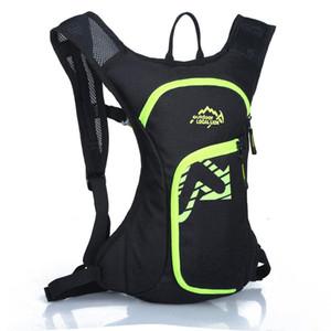 Bisiklet Sırt Çantası Seyahat Sırt Çantaları Yol Bisiklet Çantası Sırt Çantası Koşu Dağcılık Packsack 12L Koşu