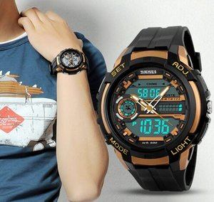 Wholesale new science fiction series Men three time multifunctional waterproof sport watches 1202