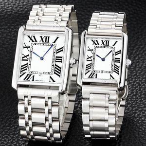 ultra minces hommes lovers bande Full Fashion en acier inoxydable quartz les femmes montres-bracelets montre pour homme dame meilleur relogios cadeaux Saint-Valentin