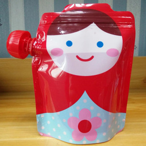 Многоразовая Пищевая Сумка Детская Упаковка Многоразовая Выжимная Сумка Пластиковые Смузи Выжимающие Сумки Многоразовая Сумка на молнии