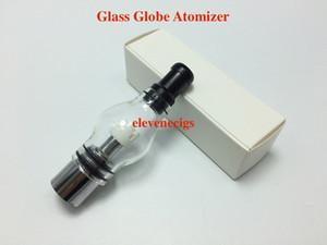 Стеклянный шар атомайзер Pyrex стеклянный резервуар с керамической восковой катушкой Сухой испаритель Clearomizer Восковой стеклянный распылитель для 510 эго батареи