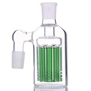 8 руки дерево золоуловитель 90 45 градусов для бонги стеклянная труба для воды барботер имеют синий и зеленый