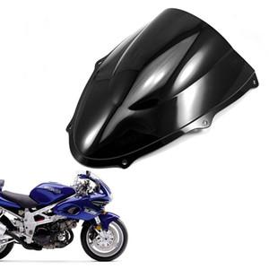 Nouveau bouclier pare-brise moto double bulle ABS pour Suzuki TL1000R 1998-2002