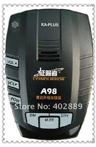 Detector de radar GPS Edog Navigator Conquistador Radar Eye Car Sensor Road Camera detector A98