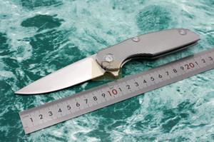 Shirogorov modèle 111 SiDiS tactique pliant Flipper couteaux D2 lame titane poignée de survie en plein air couteau couteau EDC outils