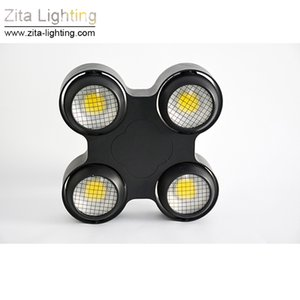 2Pcs / Lot Zita 조명 LED 블라인더 조명 4 EYE LED 무대 조명 COB Par Audience 방수 2IN1 DMX512 결혼식 디스코 관객 라이트 효과