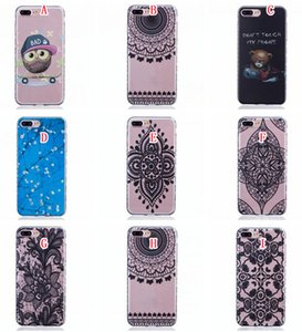 Flower Cartoon TPU Soft Case For Iphone 8 7 Plus Samsung Galaxy A3 A5 J3 2017 Huawei MATE 8 Y5 II Y6 Honor 5A Bad OWL Don't Touch my Phone