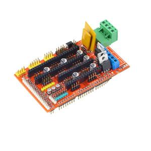 Tablero de control de la impresora 3D Control de impresión para RAMPAS 1.4 Reprap MendelPrusa Mendel Prusa DIY kit A4988