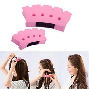 Spugna Twist Braider Dispositivo a maglia Testa di schiuma Treccia di capelli Strumenti Hair Styling Braider Accessori Porta capelli stile moda fai da te