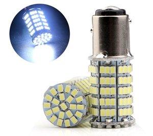NOUVEAU! 1156/1157 127 SMD 1206 Puce LED Auto Voiture Inversant Queue Ampoule Tour Lampe Lampe De Frein Queue Parking Lumière Brouillard Lumières DC 12 V