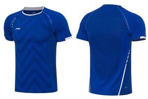 Gli uomini / donne maestri Li-Ning All England nazionale di usura squadra di badminton, magliette di volano, jersey camicie da badminton, Camicie di formazione Concorso