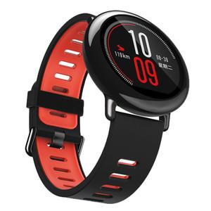 22mm Fashion Watch Band Bracelet en silicone Amazfit sport Bracelet bande Pour Xiaomi Huami Amazfit A1602 En stock intelligent BRACELET
