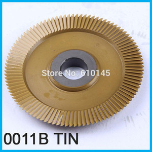 0011B HSS-TIN 70*7.3*12.7mm*100T key cutter