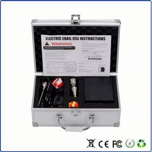 Kit de Unhas E Digital 2.1 Versão Atualizada Mini Portátil Enail Dab Elétrica Prego Titanium Nails Domeless Para Vaporizador de Cera Seca Ervas Secas