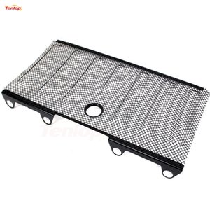 Car-Styling Hot Sale 3D Red Steel Bug Pantalla Shiled Grille con agujero de llave para Wrangler Offroad