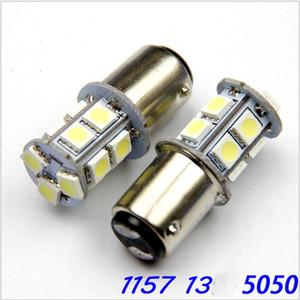 10X 1156 BA15S 1157 BAY15D 5W 5050 13SMD автомобилей светодиодные фонари тормоза задние фонари авто заднего хода лампы DC 12 В