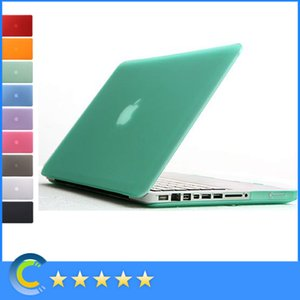 Macbook Mac Laptop Frosted Matt Rubberized Translucent Front + Back Hard Funda para PC para macbook Air Pro Retina nuevo macbook 12 retina
