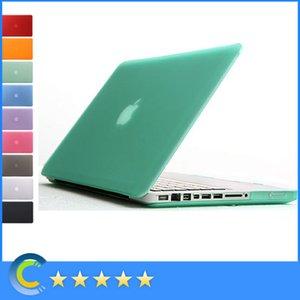 Macbook Mac ноутбук матовый матовый прорезиненный прозрачный передняя + задняя крышка жесткий чехол для MacBook Air Pro Retina новый macbook 12 retina