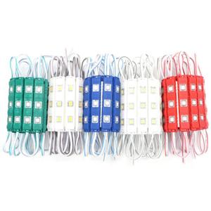 20 PC / Lot 슈퍼 밝은 사출 성형 5050 레드 LED 모듈 3 LED 빛 LED 채널 문자 광고 로그인 방수