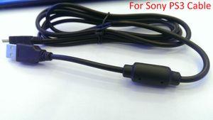 Cable de carga USB de alta calidad para SONY Playstation 3 controlador inalámbrico PS3 longitud 5.9ft (1.8m) envío libre de DHL 100pcs / lot