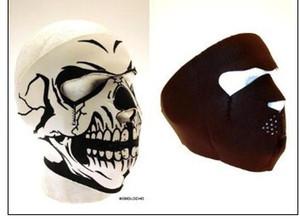 Reiten Motorrad im Freien winddicht Schädel Maske Feld Schutzausrüstung Maske Geistermaske Gesichtsschutz