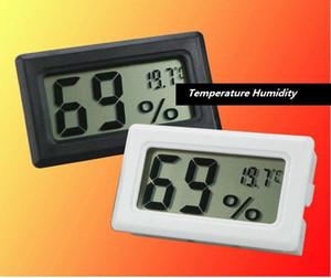 미니 디지털 LCD 실내 온도 습도 측정기 온도계 습도계 온도 게이지 습도계 수족관 온도계 Fed DHL 100