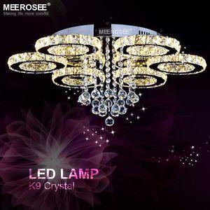 현대 샹들리에 조명기구 LED 천장 조명 조명 크리스탈 플러시 탑재 램프 식사 조명 드롭 램프 LED 홈 피팅