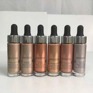 12pcs del maquillaje Glow CUBIERTA FX personalizado Enhancer Gotas Cara de resaltado 15ml del envío de DHL Resaltadores líquidos cosméticos