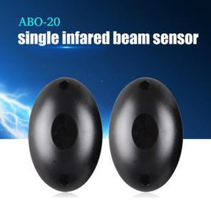 ABO-20 Toptan Yeni Su Geçirmez Aktif Fotoelektrik Tek Işın Kızılötesi Sensörü Bariyer Dedektörü için Kapı Kapı Pencere