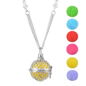 Funique полые эфирное масло аромат духи диффузор медальон ароматерапия ожерелье диффузор ювелирные изделия женщины прекрасный 1 шт. 77 см Рождественский подарок
