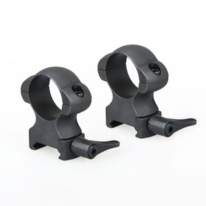 New Arrival Accessory Black Color Scope Mount QD 25.4mm For Scope Use Center Height 27mm CL24-0161