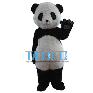 Panda traje da mascote adulto tamanho Panda Bear mascot costume frete grátis
