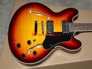 Novo Sunburst Jazz Guitar New Arrival OEM guitarras Best selling hot
