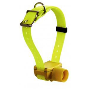 Gelbe Farbe Jagdhundehalsband Piepser wasserdicht für kleine, mittlere, große Hunde