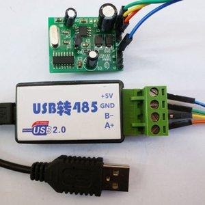 USB à tevê da rede do PLC do módulo DS18B20 RS485 do monitor da temperatura de Modbus 485 RTU